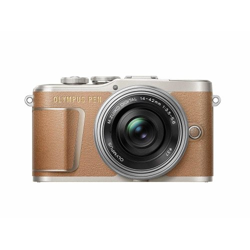OLYMPUS E-PL9 Brown KIT 14-42mm F3.5-5.6 EZ ED Silver