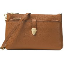 Michael Kors Mercer Large Snap Pocket Crossbody Luggage - Brown - 32H6GM9C3L-230