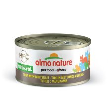 Almo Nature Hfc Natural Cat Adult Tuna & White Bait 70g (Pack of 24)