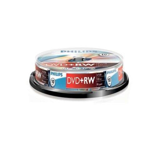 Philips Dvd+Rw 4X 10Pk Spindle PHOVPRW47104SP