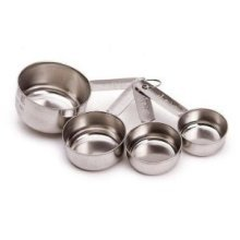 Stainless Steel 4 Piece Measuring Cup Set