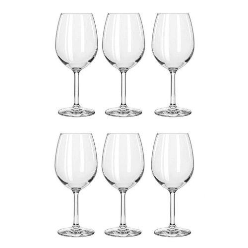 6pk Royal Leerdam Wine Glass Set - 460ml | 6 Large Wine Glasses