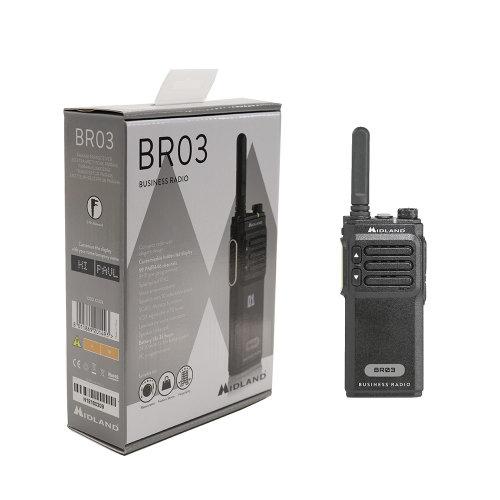 Portable Portable Radio Station Midland BR03 Code C1323