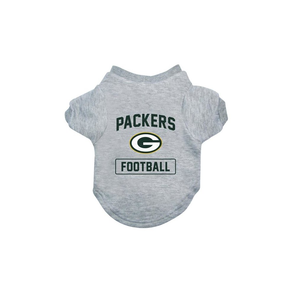 21ab7ecfc67 Little Earth 320150-PACK-XL NFL Pet Tee Shirt Type, Green Bay Packers -  XLarge on OnBuy