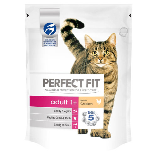 Perfect Fit Cat Complete Adult Chicken 190g (Pack of 6)