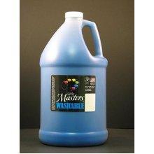 Handy Art Little Masters Washable Tempera Paint Gallon, Blue