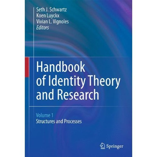 Handbook of Identity Theory and Research
