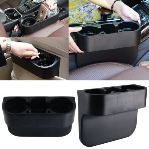 Black Cup Holder Car  Storage Drinking Bottle Can Mug Mount Stand Universal