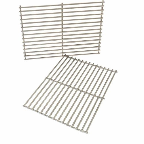 Onlyfire Replacement BBQ Stainless Steel Cooking Grill ROD Grid Grates for Weber 7528 Spirit and Genesis E and S seriesModels Grill, Set of 2