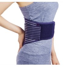 Warm Keeping Waist Brace for Women with Pad, Purple