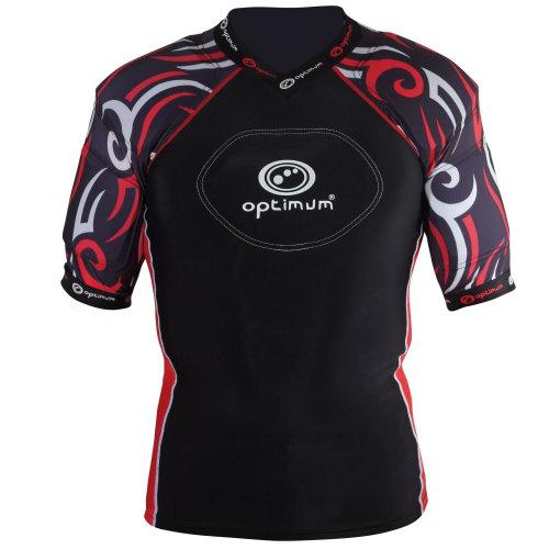 Optimum Razor Kids Rugby Body Protection Black/Red