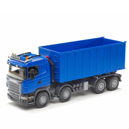 Emek Scania R Hook Lift Skip Tipper (Blue)