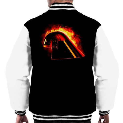 Original Stormtrooper Imperial Navy Helmet Explosion Men's Varsity Jacket