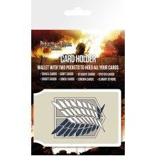 Attack on Titan Badge Travel Pass Card Holder