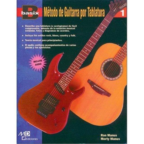 Alfred 00-18466 Basix- TAB Guitar Method- Book 1- Spanish Edition - Music Book