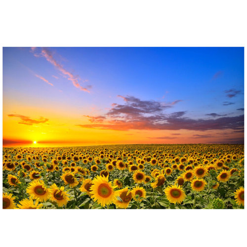 Sunflowers, Fashionable Wooden Puzzle For Adult 1000 Piece Jigsaw Puzzle