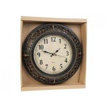 30.5cm Crown Scroll Quartz Wall Clock - Traditional Home 305cm Antique Gift -  wall clock quartz crown scroll traditional home 305cm antique gift