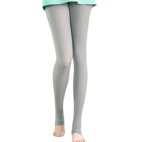 Golf Clothing Pants Sport Leggings Womens Golf Clothes Stirrupped Leggings Gray