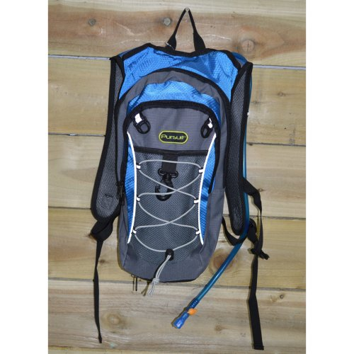 2 Litre Hydration Backpack, With Bladder And Additional Storage