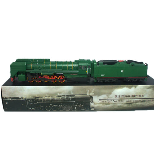 Alloy  Car Model Collection with Light&Sound/ Classical Model Trains, Green