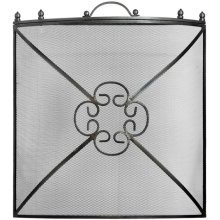 Fire Screen Antique Pewter