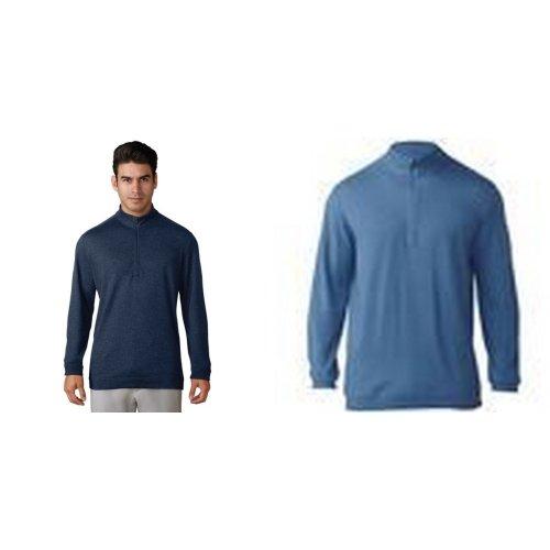 Adidas Mens Wool 1/4 Zip Top