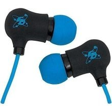 Manhattan Sound Science Nova Sweatproof Lightweight In-ear Earphones - Blue