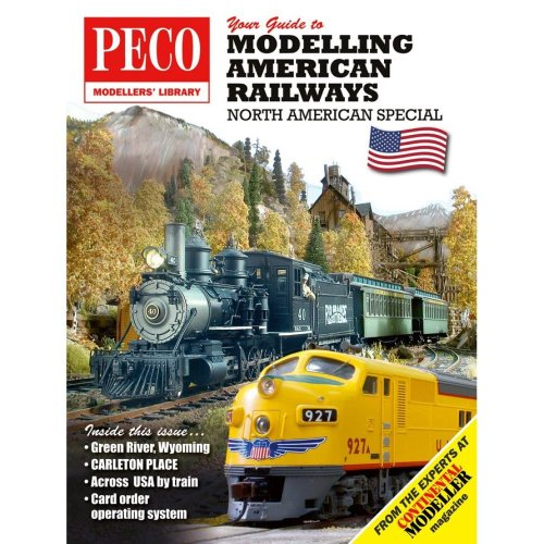 Your Guide to Modelling American Railways - Peco publication PM-201 - F2