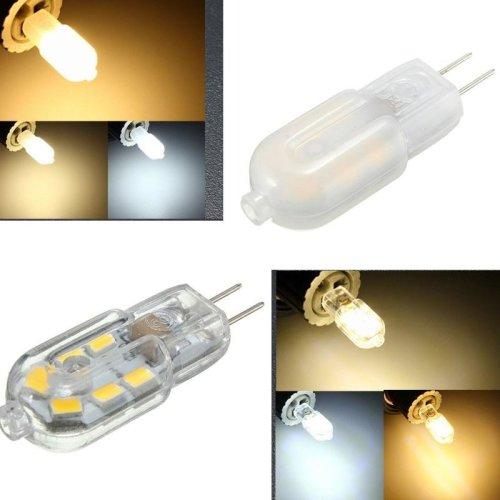 G4 Base 2W 12SMD LED Warm/Cool/Natural White Light Lamp Bulb DC12V