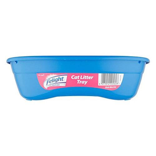 Bob Martin Cat Litter Tray - (Colour May Vary - Blue or Grey)