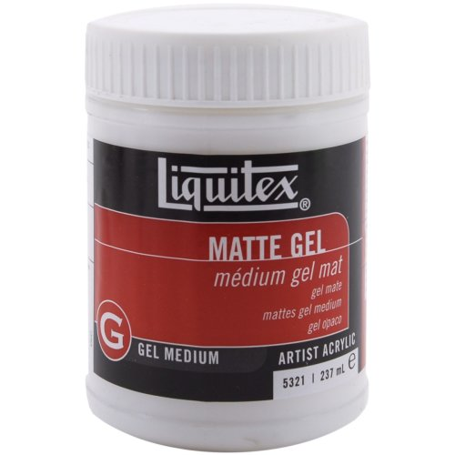 Liquitex Matte Acrylic Gel Medium-8oz