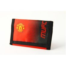 Manchester United Fc Wallet Fade Design