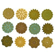 Antique Lace - Novelty Craft Buttons / Embellishments by Dress It Up