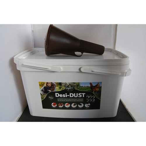 Organ-X Desi-DUST 5KG ultimate Moisture removal powder Diatomaceous Earth with applicator