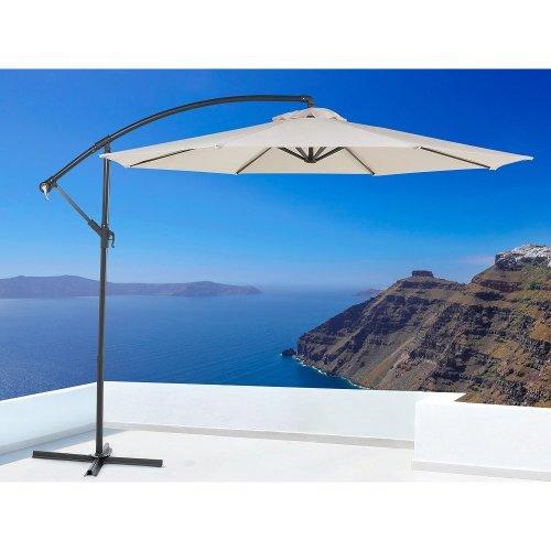 Cantilever patio umbrella - 293 cm - Crank - Metal - RAVENNA