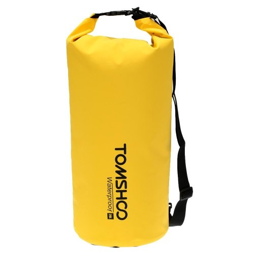TOMSHOO Dry Bag Waterproof 10L / 20L Outdoor Dry Sack Storage Bag for Travelling Rafting Boating Kayaking Canoe Camping Snowboarding with...