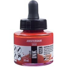 Amsterdam Acrylic Ink 30ml-Naphthol Red Deep