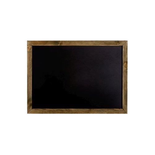 Large Wooden Edge Blackboard   Message Memo Notice Board