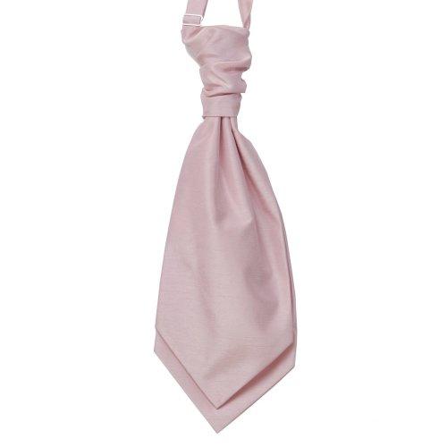 Pink Shantung Wedding Wedding Cravat #WCR1866/3