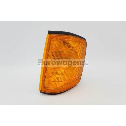 Front indicator left orange Mercedes-Benz 190 W201 82-93