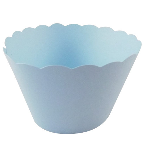 Light Blue Cupcake Wrappers x 50 Per Pack