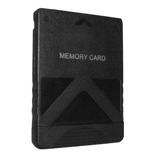 Memory card for PS2 128MB Sony PlayStation 2 slim console save black ZedLabz