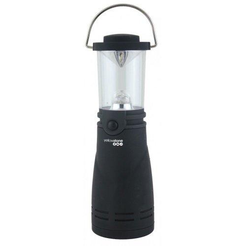 Yellowstone 4 LED Wind-Up Lantern - Black, 1 Pack
