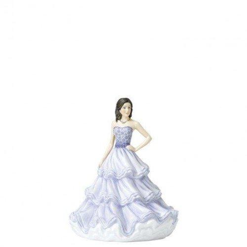 Royal Doulton Lady Sentiments Range Petite Figure - Warm Affection