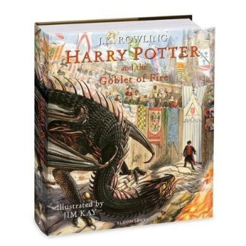 Harry Potter & The Goblet of Fire Illustrated Edition - J.K. Rowling & Jim Kay