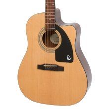 Epiphone AJ-100CE Advanced Jumbo Electro Acoustic Guitar, Natural