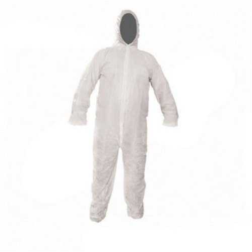 Extra Large White Disposable Overall -  disposable silverline overall xl 136cm 54 suit overalls protective 595763 paper
