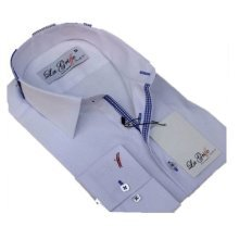 Men's Casual Formal Double Collar Slim Fit Formal Shirt Italian Design LG11