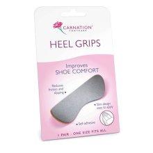 Carnation Heel Grips - Improves Shoe Comfort 1 Pair Friction Slipping 2 6 Packs -  carnation heel grips improves shoe comfort 1 pair friction