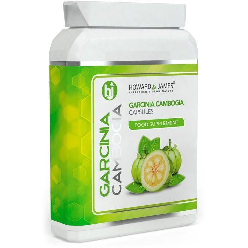 Garcinia CAMBOGIA 60 Capsules   Pure Whole Fruit   High Strength Capsules   Max Strength Tablets for Men and Women   100% Money Back Guarantee (60...